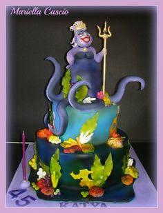 ursula cake  Cake by Mariella Cascio
