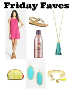 Check out my Friday Faves! From a shift dress to tassels, this is what I'm loving!