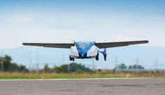 collapsible aeromobil 2.5 flying car successfully takes off - designboom | architecture