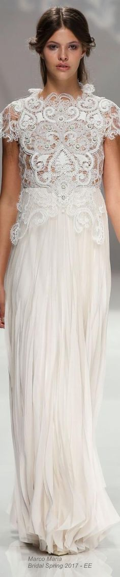 Marco Maria Bridal Spring 2017 by summer