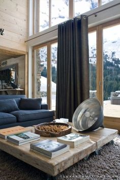 View full picture gallery of Chalet La Grange Chalet Chic, Hotel Chalet, Chalet Style, Chalet Interior, Interior Design, Showroom Design, Chalet Meribel, Modern Cottage, Modern Farmhouse