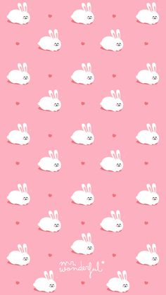 I really miss you Mr Wonderful Baby Wallpaper, Rabbit Wallpaper, Cute Pastel Wallpaper, Pink Wallpaper Iphone, Kawaii Wallpaper, Animal Wallpaper, Cellphone Wallpaper, Cool Wallpaper, Mr Wonderful