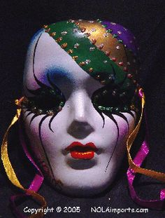 Porcelain Masks Decoration Adorable Ceramic Mask  Masking Review