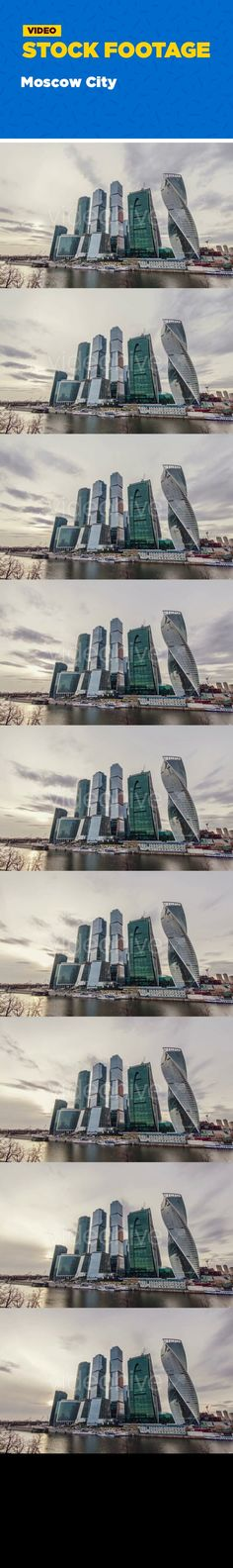 architecture, business, center, city, construction, futuristic, modern, moscow, new, office, russia, skyscraper, tower, urban, view Business Center Moscow City, time-lapse clouds flying over skyscrapers of glass and concrete