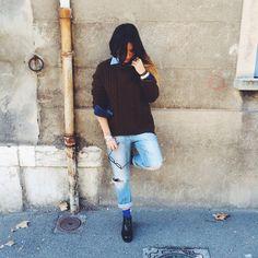 Tomboy, Cover, Pants, Fashion, Long Hair, Trouser Pants, Moda, Fashion Styles, Women's Pants