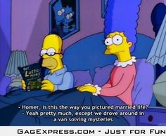 Homer's view of married life