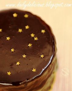Allergen Free Boston Cream Cake
