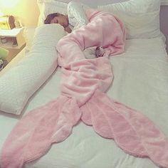 Mermaid Blankets | Pink Accessories