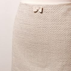 """Elie Tahari Light Blue Tweed Short Skirt Gorgeous spring skirt! Light blue, cream, and oatmeal tweed pattern. Featuring invisible side zipper closure, fully lined. 72% cotton 26% viscose 2% elastane Dry Clean Only 17"""" overall length 42"""" sweep Elie Tahari Skirts"""
