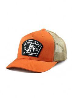 7ec1316d439db Fly Fishing Hat Bucking Trout Orange Trucker Snapback - Orange Cream -  CO12FFNNDYN