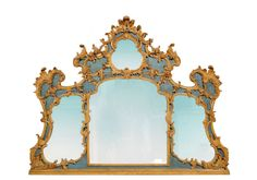 An italian 18th c. fireplace mirror , Piemonte | From a unique collection of antique and modern mantel mirrors and fireplace mirrors at http://www.1stdibs.com/furniture/mirrors/mantel-mirrors-fireplace-mirrors/