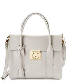 "Salvatore Ferragamo ""Sookie"" Small Leather Tote is on Rue. Shop it now."
