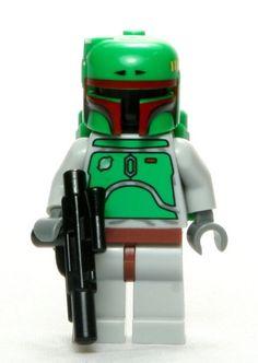 Amazon.com: LEGO Star Wars Minifigure Classic Boba Fett with Blaster Gun: Toys & Games