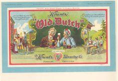 C 1915 // COLOR LETTERHEAD // FINDLAY, OHIO // KRANTZ DUTCH BEER BREWERY // ALTMEYER