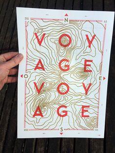 Chaumont Design Graphique 2015: Voyage