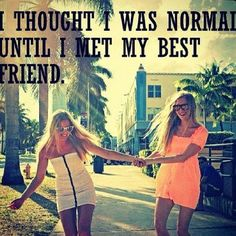 True fact about me: For about 6 years me and my bff Kayla were never normal! Love My Best Friend, Best Friends Sister, Best Friends For Life, Best Friend Goals, Best Friends Forever, Crazy Friends, Friends Girls, Sister Sister, Amazing Friends