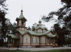 Joensuun ortodoksinen kirkko. Kuva: Soile Tirilä 2006
