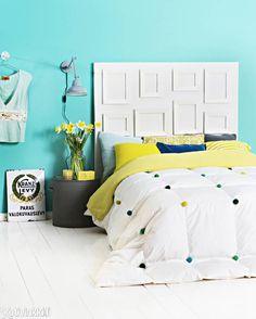 Makuuhuone uusiksi - tee itse sängynpääty ja päiväpeitto! | Kotivinkki