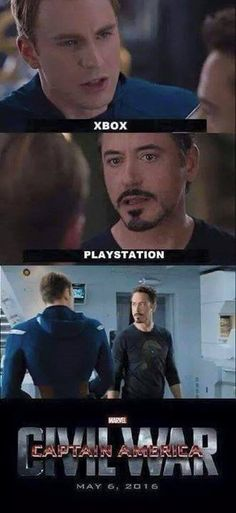 And that's how we got Civil War