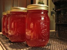 how to make and can crab apple jelly - Apple Jelly Recipes