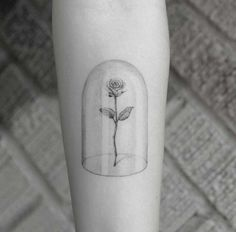flowers and tattoo image More