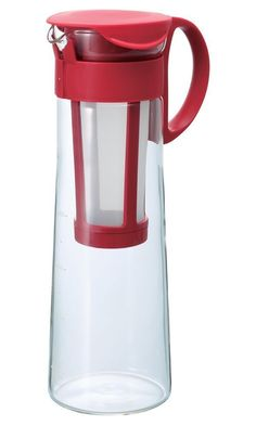 Hario Water Brew Coffee Pot, 1000ml, Red Best Price