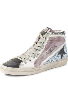 GOLDEN GOOSE 'Slide' High Top Sneaker (Women). #goldengoose #shoes #