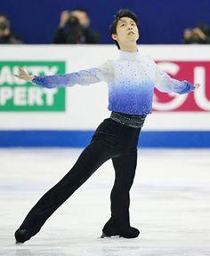 Yuzuru Hanyu (Yuduru Hanyu) / figure skater. World Figure Skating Championships 2015.