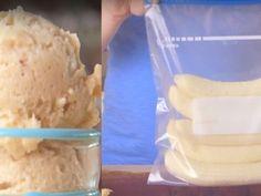 Iata o reteta de ingheteta de banane pe care o pregatesti in maxim 5 minute Recipe From Scratch, Frozen, Goodies, Dessert Recipes, Caramel, Ice Cream, Food, Author, Sweet Like Candy