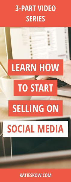 Let's Improve Your Social Media Game!  3-Part Video Series: Start Selling NOW on Social Media.  Learn how to: STAND OUT DAILY, the top MISTAKES TO AVOID, and how to build RELATIONSHIPS so they BUY. Social media marketing tips to start selling your products and services.  Sign up via email to learn the best way to sell on Social Media.