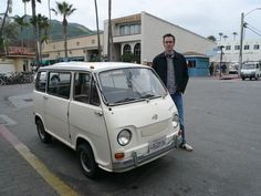 Subaru Samber--the first Kei car? Japanese Cars, Vintage Japanese, Kei Car, Mini Camper, Mini Trucks, Cute Cars, Small Cars, Old Cars, Subaru