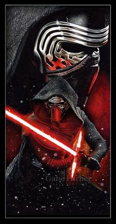 Star Wars - Kylo Ren by Gabe Farber