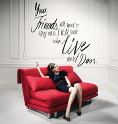 1000 images about favorite adverts on pinterest ligne roset furniture design and branding. Black Bedroom Furniture Sets. Home Design Ideas