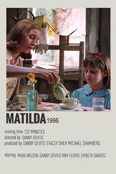Iconic Movie Posters, Minimal Movie Posters, Iconic Movies, Vintage Movies, Vintage Posters, Matilda Movie, Poster Minimalista, Film Poster Design, Photo Deco