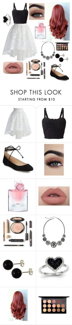 """""""Untitled #1269"""" by floridaflower11 ❤ liked on Polyvore featuring Chicwish, Miss Selfridge, Karl Lagerfeld, Lancôme, Arizona, Kevin Jewelers and MAC Cosmetics"""