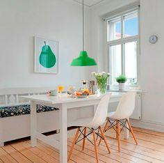 Las lámparas argos, disponibles en distintos colores, darán un nuevo estilo a tu cocina o sala de estar.  Elige ahora la tuya por sólo 24,95 €. #decoracion #hogar