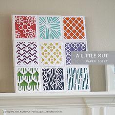 Paper Quilt Gift Boxes Collection SVG DVX & by ALittleHut