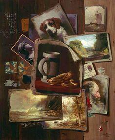 'Patch Painting' - John Frederick Peto -1886