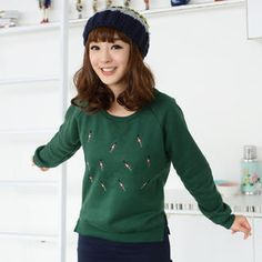 Buy '59 Seconds – Soldier-Embroidered Pullover' with Free International Shipping at YesStyle.com. Browse and shop for thousands of Asian fashion items from Hong Kong and more!
