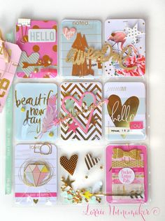 Make Pretty Stuff Pocket Letters by Lorrie Nunemaker