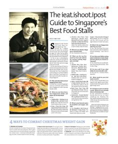The ieat.ishoot.ipost Guide to Singapore's Best Food Stalls ---  Epoch Times, Singapore Edition (Issue 480, 20 Dec 2013)