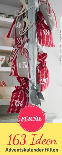 christmas Advent - little bags with goodies for each day of Advent Cottage Christmas, Noel Christmas, Little Christmas, Rustic Christmas, Winter Christmas, Christmas Wreaths, Christmas Crafts, Christmas Decorations, Xmas