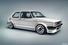 Classic Volkswagen Golf MK 1 Oettinger 16s