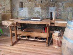 Outdoor Küche Aus Hobelbank : Best hobelbank möbel images in rustic homes