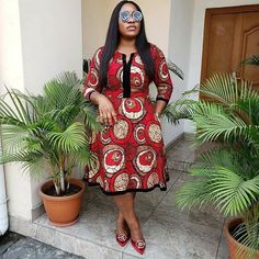 Casual Ankara Dress styles for African ladies 2020 - Best African Fashion Ankara And Aso Ebi Styles in 2020 Short African Dresses, African Lace Styles, Ankara Short Gown Styles, Short Gowns, African Fashion Ankara, African Inspired Fashion, Latest African Fashion Dresses, African Print Fashion, African Fashion Traditional