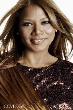 COVERGIRL Queen Latifah is wearing the Exact Eyelights Collection of eye brightening mascaras, shadows, and liners. http://www.covergirl.com/collections/exact