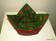 Weihnachtliche Wende Körbchen