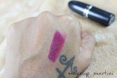 MAC Rebel Lipstick Swatch Mac Lipstick Swatches, Beauty Corner, Dupes, Print Tattoos, Makeup, Make Up, Beauty Makeup, Mac Lipsticks