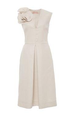 Soft Raffia Dress by Anna Sammarone for Preorder on Moda Operandi