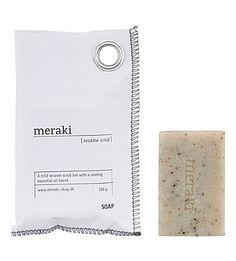 MERAKI Sesame scrub hand soap 100g